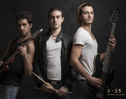 X-35 rock band shooting