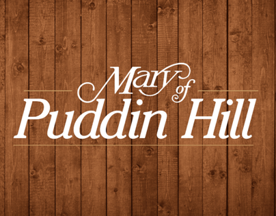 Mary of Puddin Hill