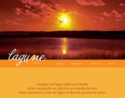 Lagune Living Resort - Landing Page
