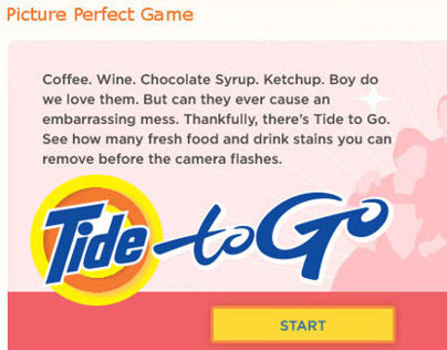 Tide to Go Pen: Interactive Game