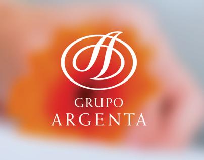 Corporate & Brand Identity Project · Grupo Argenta