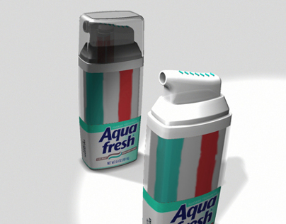 Next Generation Aqua-Fresh Toothpaste Pump Concepts