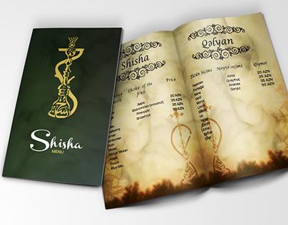 Shisha menu