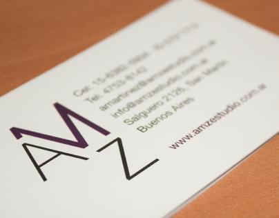 Print Identity Design · AMZ