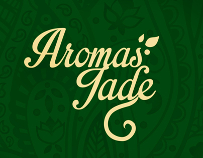 Brand Identity · Aromas Jade