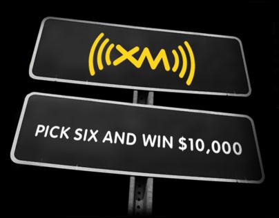 XM Radio Pick Six Sweepstakes