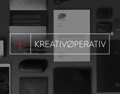 +KREATIVØPERATIV® studio branding