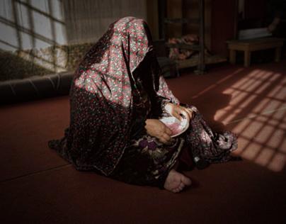Herat. Among the prison's women.