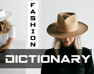 Hats fashion Dictionary https://youtu.be/AlDD5fL_HGo