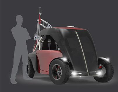 ONYX - Bike Transporter Micro Car