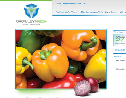 Crowley - Website Design