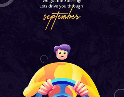 #€||○ September
