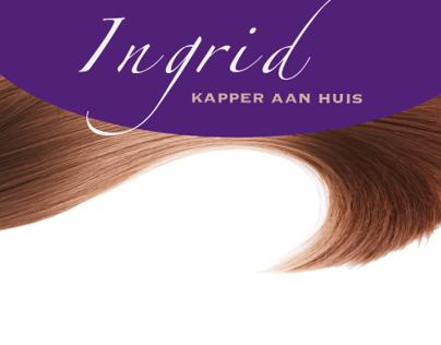 Huisstijl Ingrid, kapper aan huis