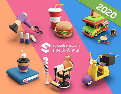 3D Icons Pack One | Cashdrop
