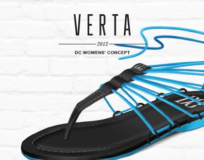 VERTA | DC Women's Sandal Concept