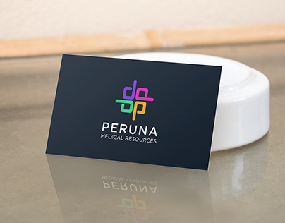 Peruna Medical LLC logo design project.