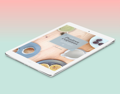 Vegan Dessert — Digital publishing app