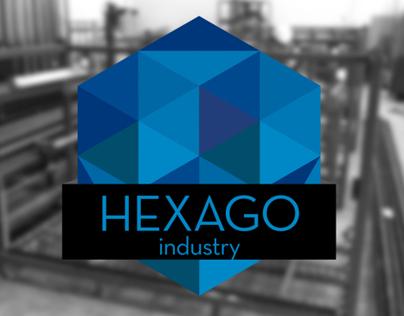 Projeto completo de Marca - Hexago Industry