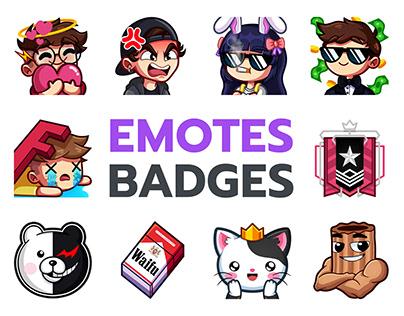 Emotes & Badges