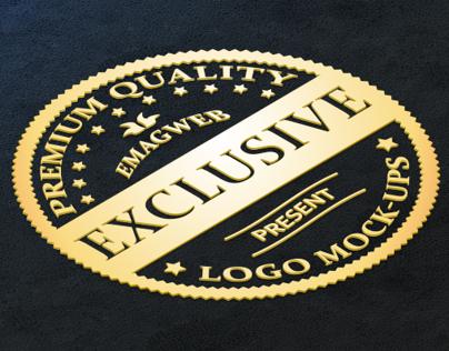 Perspective Leather Logo Mock-ups