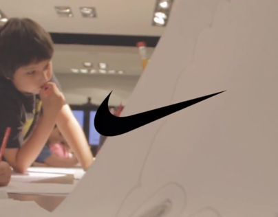 Children Creative Workshop for Nike
