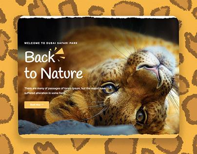Dubai Safari Park Concept