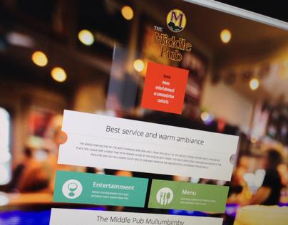 The Middle Pub Website