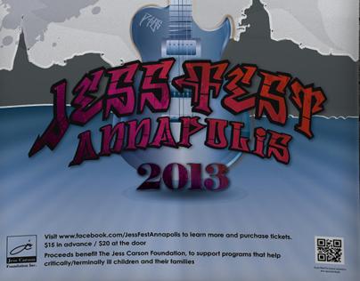 JessFest Annapolis Poster/Logo design