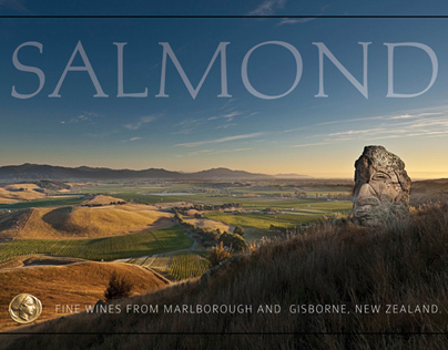 Salmond Wines / Odyssey Wines - Graphic Design