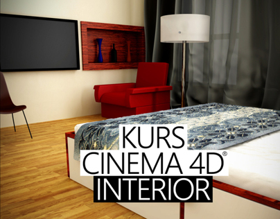 Kurs cinema 4d interior on behance for Kurs interior design