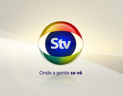 Mozambique STV Broadcat Network motion graphics rebrand