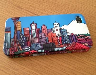 Seattle iPhone Hardcase