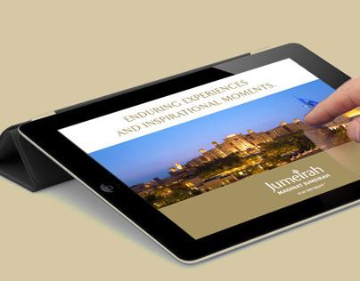 Madinat Jumeirah iPad app - Concept