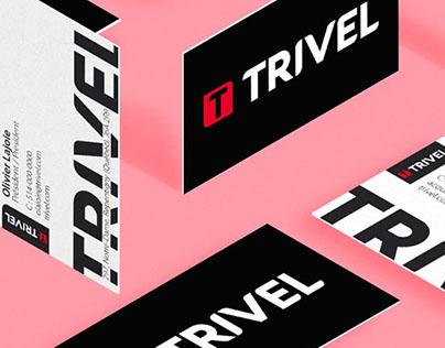 Trivel Logo & Business cards