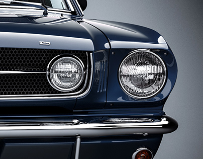 Classic Mustang Fastback 1965