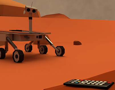 Discovery Channel Ident - Mars Rover