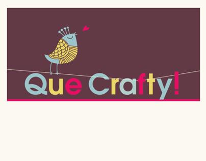 Que Crafty Logo