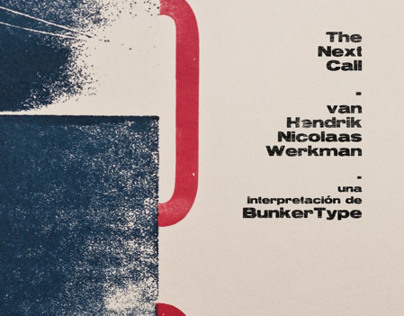 H.N. Werkman, designed by BunkerType, at Elisava School