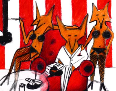 Pimp fox