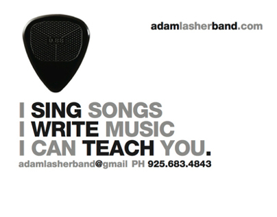 Adam Lasher Business Card