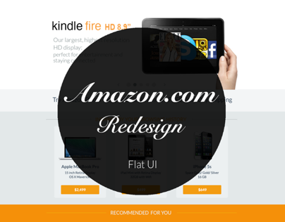 Redesign of Amazon.com