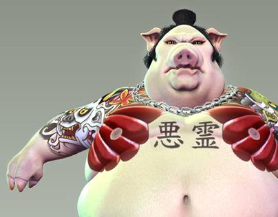 Demon Pig Guroi Guroi