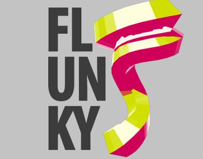 Flunky logo sketches