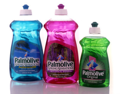 Palmolive 'Grip Waist' Containers