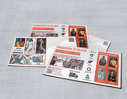 FASHION Postcard Template & Mailer EDDM