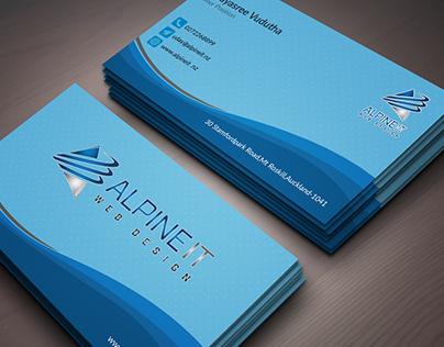 Business Card for freelancer contest