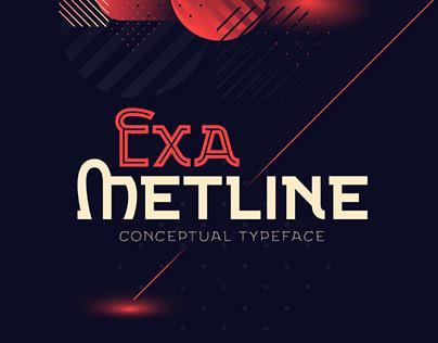 Exa Metline font