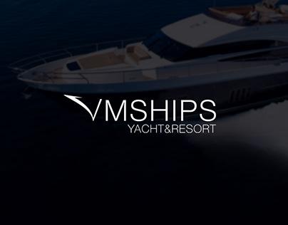 Landing Page для ICO инвестиции в круизные яхты