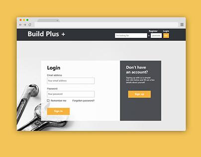Design for a tradesman bidding platform