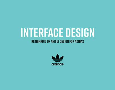Adidas: UX/UI Design